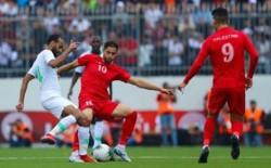 منتخب فلسطين يتلقى هزيمة بخماسية من السعودية