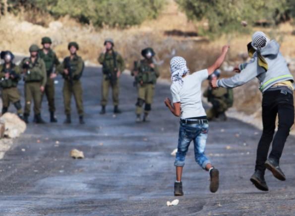 إصابات بالاختناق جراء قمع الاحتلال الإسرائيلي