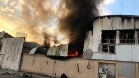 عدوان الاحتلال يستهدف مدينة غزة الصناعية ويتسبب بتدمير عدد من المصانع