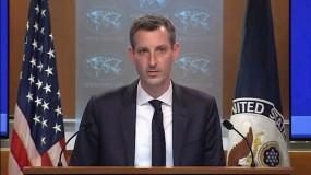 """الخارجية الأميركية: ندعم حلّ الدولتين بما يحفظ لإسرائيل """"هويتها"""" وللفلسطينيين الأمن والإزدهار"""