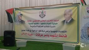 الانتخابات الداخلية لاختيار مرشحي حركة فتح بنقابة المحامين