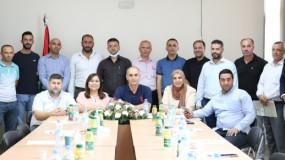 """""""التعليم العالي"""" تعلن تشكيلة الهيئة الإدارية الجديدة للاتحاد الفلسطيني للرياضة الجامعية"""