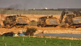 10 آليات إسرائيلية تتوغل شرق رفح