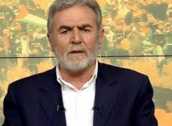 النخالة: جريمة حصار غزة يجب أن تنتهي بلا مقابل ودون تعهدات أو تنازلات